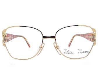 97f3b52266e39 Genuine 1980s Paloma Picasso 3818 43 Vintage Eyeglasses Frame    Made in  Austria    New Old Stock