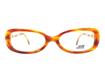 d55029f7830741 Genuine 1980s Gianni Versace Mod V37 Col A13 Vintage Glasses    Made in  Italy    New Old Stock