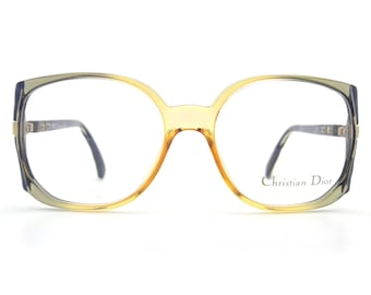 Genuine 1980s Christian Dior 2366 51 Vintage Glasses // Made in Germany // New Old Stock