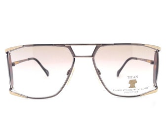 6e1e2b3f4a9 Genuine 1980s Neostyle Titan 002 094 PRESTIGE Vintage Glasses    Made in  Germany    New Old Stock