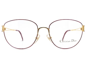 Genuine 1990s Christian Dior 2880 40B Vintage Glasses // Made in Austria // New Old Stock
