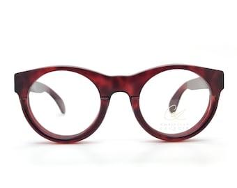 b40dc6deaf722 Genuine 1980s Christian Lacroix 7309 30 Vintage Eyeglasses Frame    Made in  Germany    New Old Stock