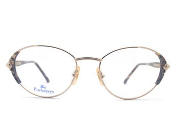 b661a51482 Genuine 1980s Burberry B 8791 VR1 Vintage Cat Eye Glasses    Made in Italy     New Old Stock