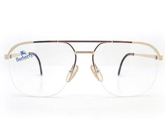 cb9d055c2be Genuine 1990s Burberry B8826 000 Vintage Glasses    Made in Austria    New  Old Stock