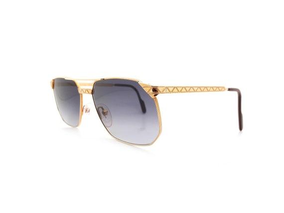 Vintage Alpina FM34 Rectangular Aviator Sunglasses