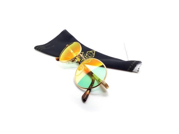 1990s Vintage Round Sunglasses, Sting 4091 Col 349