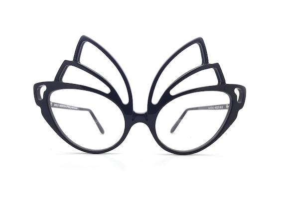 086ed9809645 Genuine 1980s Anglo American La Scala BLK Vintage Glasses