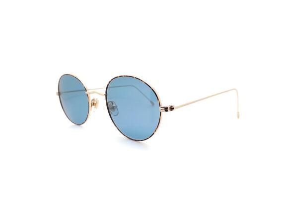 1990s Vintage Round Sunglasses, Conti Lennon 15 L… - image 3