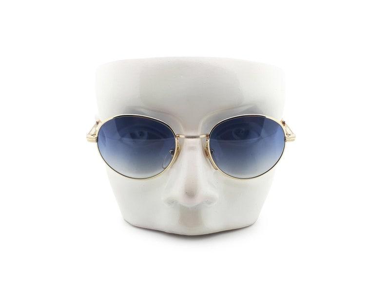 Vintage Sting by Dierre Mod 4091 Col 200 90s Round Sunglasses  1990s Designer Sunglasses