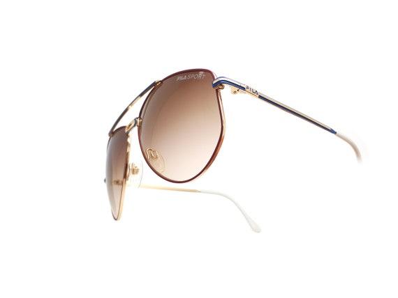 Vintage Fila 8801 A 90s Sunglasses // 1990s Desig… - image 1