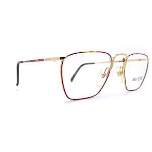 Colorful Brow SUNJET by CARRERA Model 5212 Unworn Unisex Glossy Eyeglass Frames Old Stock New Made in Italy 52 19 135 Medium Large
