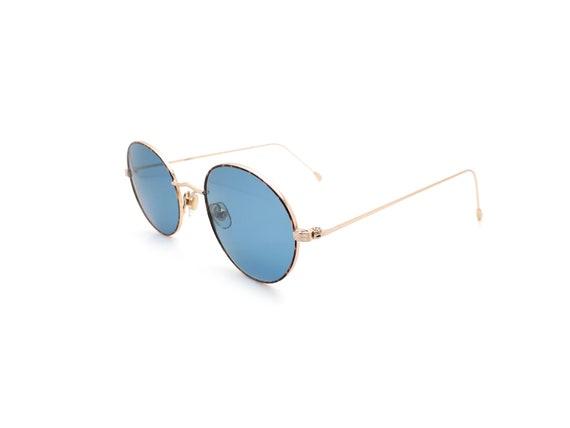 1990s Vintage Round Sunglasses, Conti Lennon 15 L… - image 4
