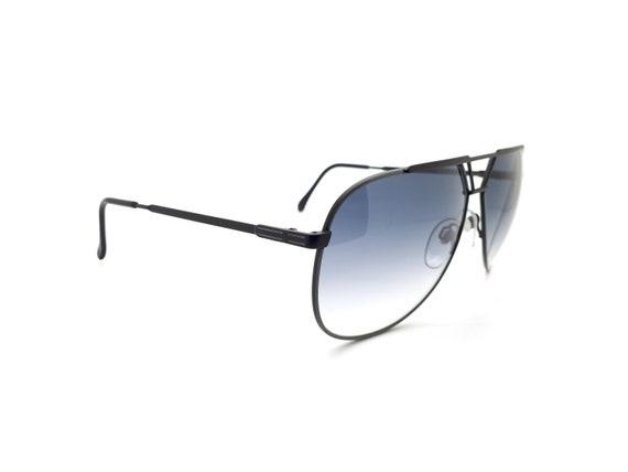 Luxottica 7053 Vintage Aviator 80s Sunglasses,  /… - image 5