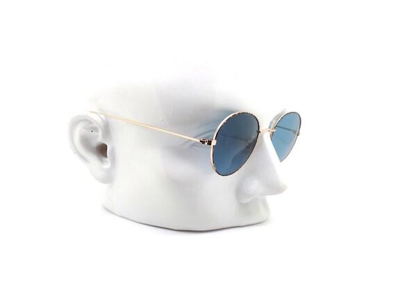 1990s Vintage Round Sunglasses, Conti Lennon 15 L… - image 10
