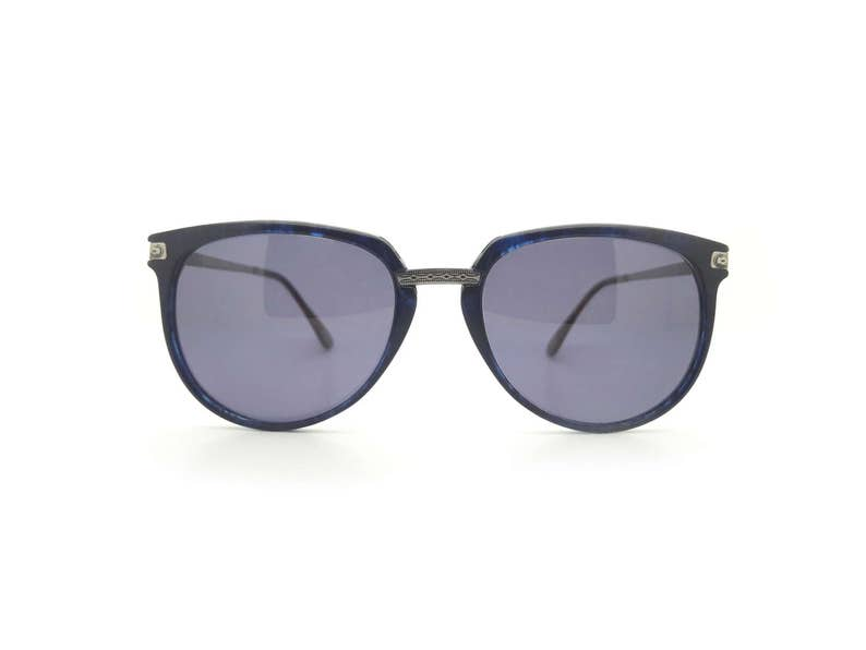 4d5214ed6117b Genunine 1980s WindsorFrisco Blue Vintage Sunglasses
