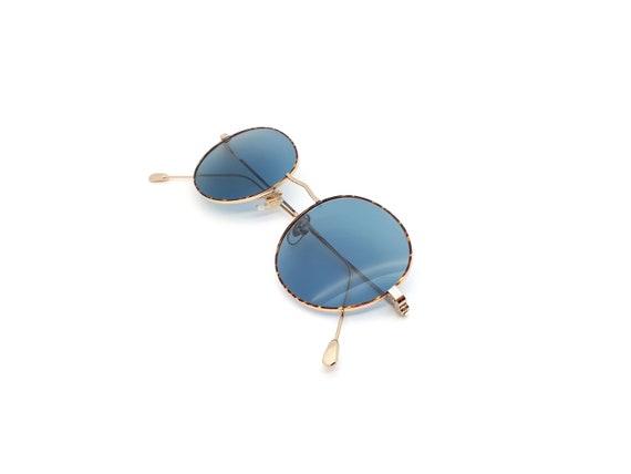 1990s Vintage Round Sunglasses, Conti Lennon 15 L… - image 1