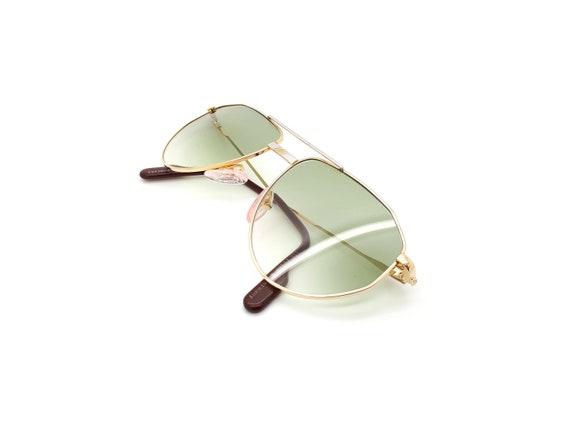 Vintage Alpina FM 3333800 Aviator Sunglasses // 19