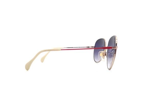 Metzler 0828 Red Vintage Aviator Sunglasses // Vi… - image 9