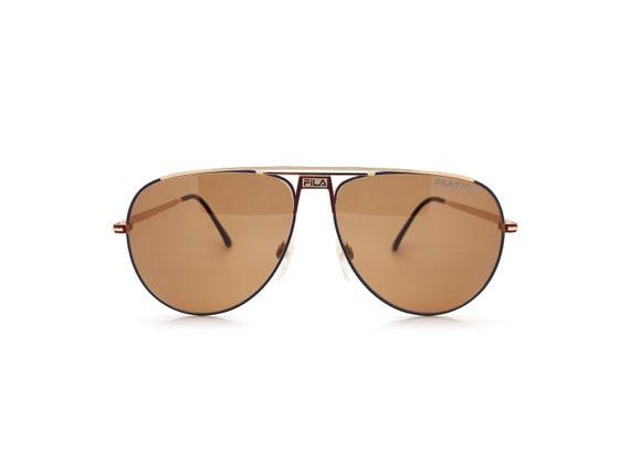 Vintage Fila 8501 B 80s Sunglasses // 1980s Design