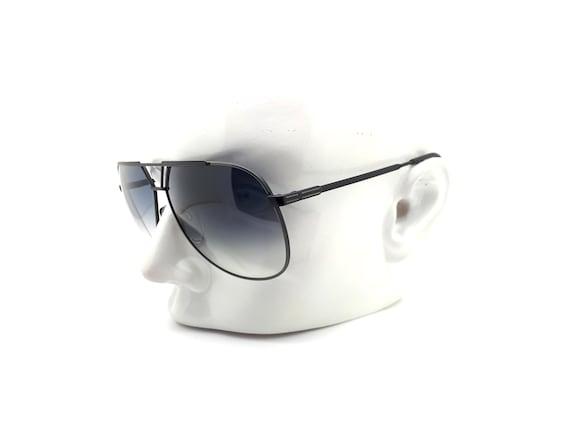 Luxottica 7053 Vintage Aviator 80s Sunglasses,  /… - image 9