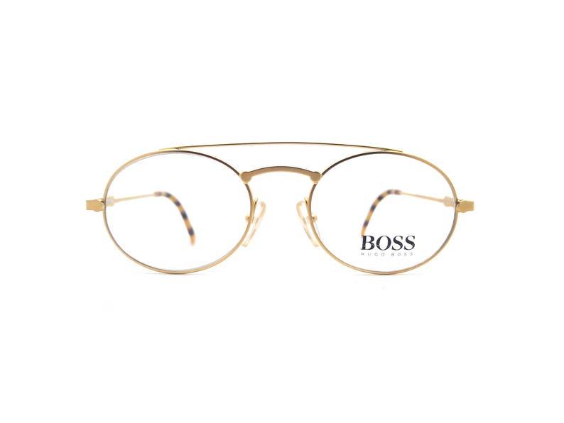 af997dd55b0e Genuine 1980s Hugo Boss By Carrera 5144 40 Vintage Glasses // | Etsy