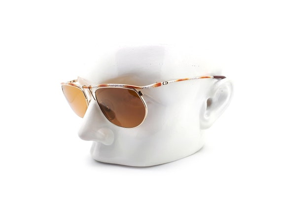 Vintage Christian Dior 2629 43 Metal 80s Sunglasse