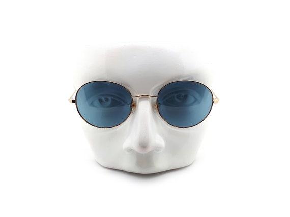 1990s Vintage Round Sunglasses, Conti Lennon 15 L… - image 8