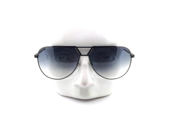 Luxottica 7053 Vintage Aviator 80s Sunglasses,  /… - image 1