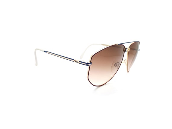 Vintage Fila 8801 A 90s Sunglasses // 1990s Desig… - image 4