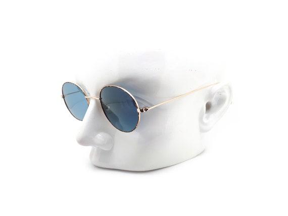 1990s Vintage Round Sunglasses, Conti Lennon 15 L… - image 9