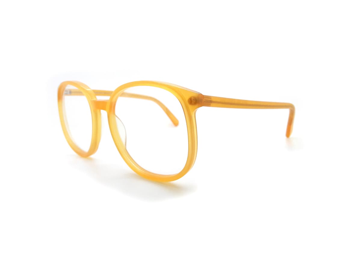 1970s Anglo American Mod 150 OP7 Vintage Glasses Frames // New Old Stock Vintage Eyewear