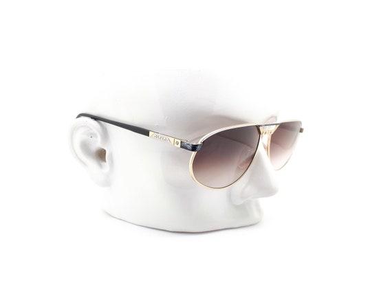 Vintage Alpina FM15 Aviators 80s Sunglasses,  // … - image 10