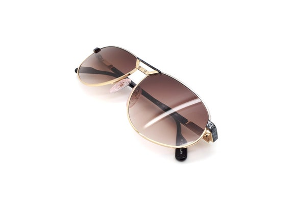 Vintage Alpina FM15 Aviators 80s Sunglasses,  // … - image 6