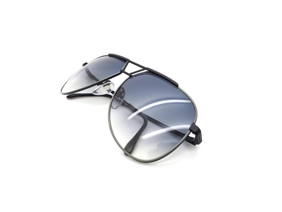 Luxottica 7053 Vintage Aviator 80s Sunglasses,  /… - image 8