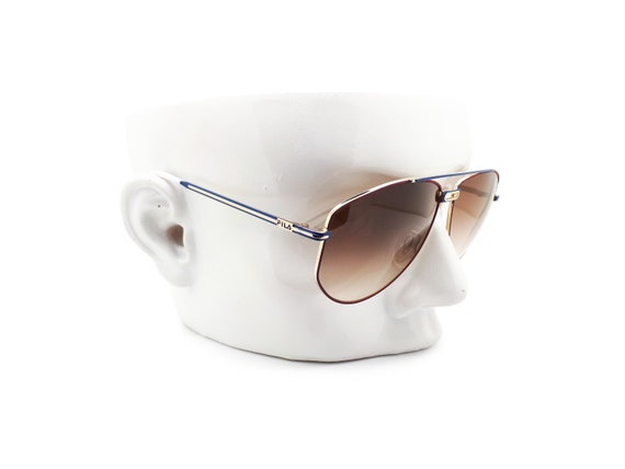Vintage Fila 8801 A 90s Sunglasses // 1990s Desig… - image 8