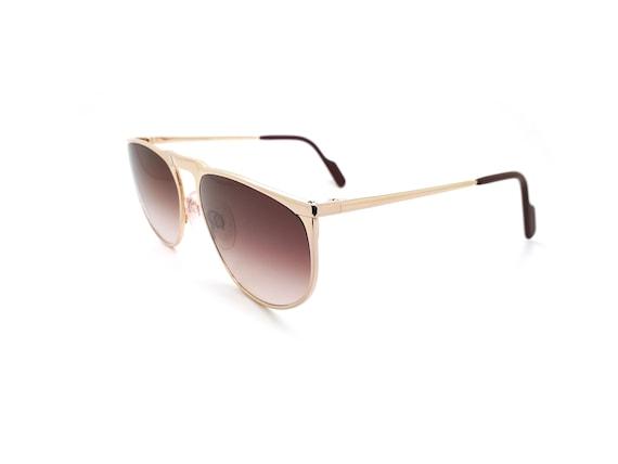 Vintage Alpina FM92 1119200 Aviator 80s Sunglasse… - image 4