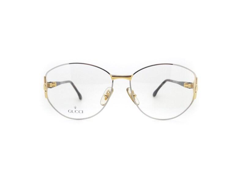 876def31ff Genuino del 1980 Gucci GG 2349N P14 Vintage ottico occhiali Frame / / Made  in Italy / / New Old Stock