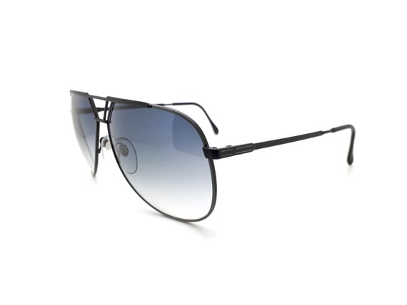 Luxottica 7053 Vintage Aviator 80s Sunglasses,  /… - image 4