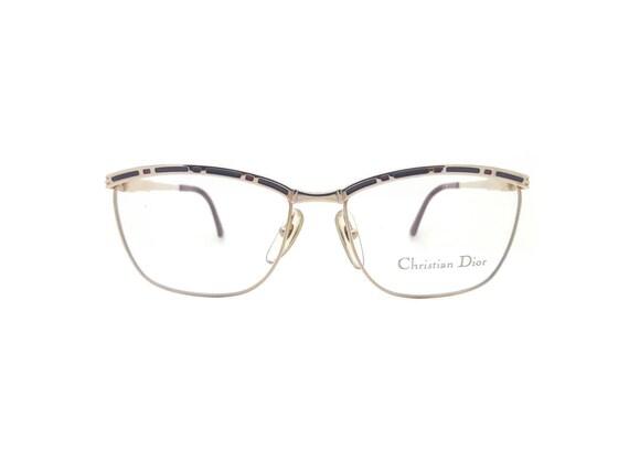 e82e9970fe Genuine 1980s Christian Dior 2720 48 Vintage Glasses    Made in Austria     New Old Stock