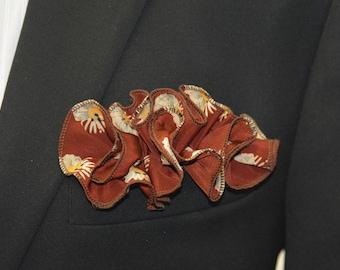 Copper Flower - Pocket Round