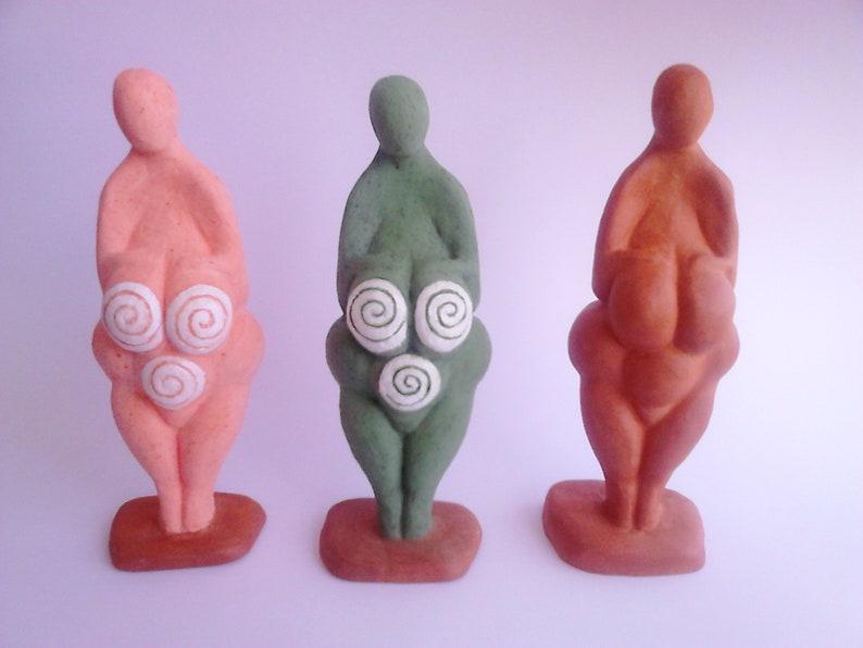 Figuras paleolíticas de diosas venus de Lespugue