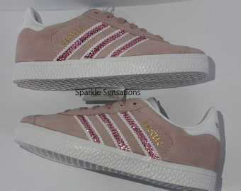b53003c4f10c Adidas Original GAZELLE Made with SWAROVSKI Crystals