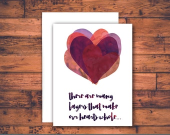loss of a loved one / loss of husband, loss of wife, condolence, loss of spouse, loss of partner, sympathy card, bereavement card