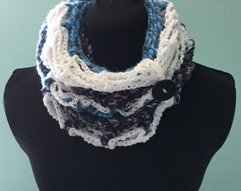 Ice Queen Infinity Scarf