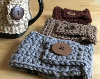 Coffee Mug Cozy, Mug Cozy, Coffee Cozy, Cozy Mug, Crochet Mug Cozy, Reusable Coffee Sleeve, Mug Sleeve, Mug Warmer, Cup Cozy, Coffee Sleeve