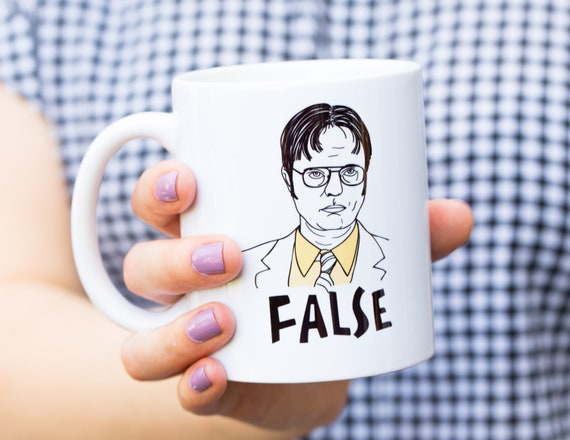 Dwight Schrute Coffee Mug in GIft Box