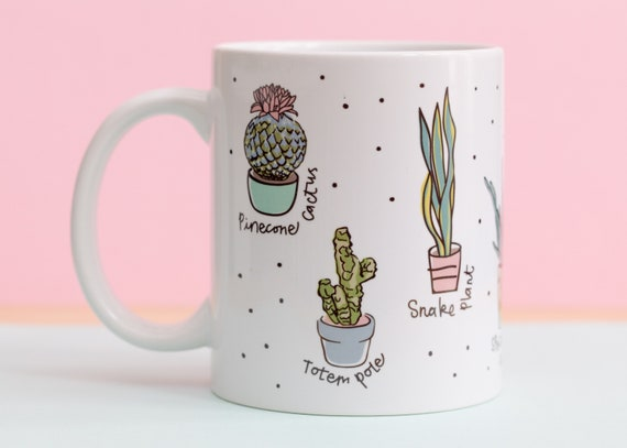 Types of Plants mug