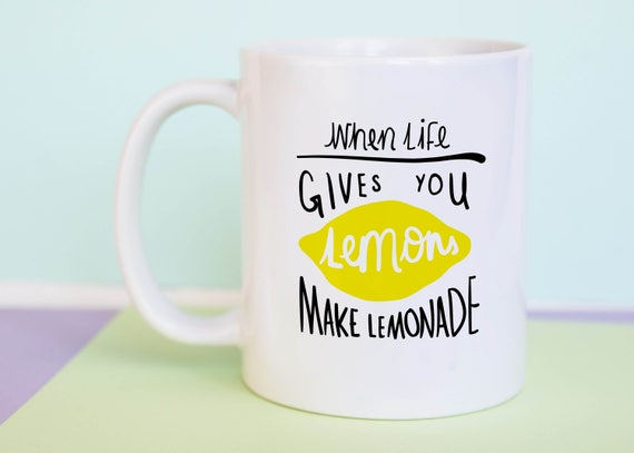 When Life Gives You Lemons Make Lemonade Mug (With Gift Box)