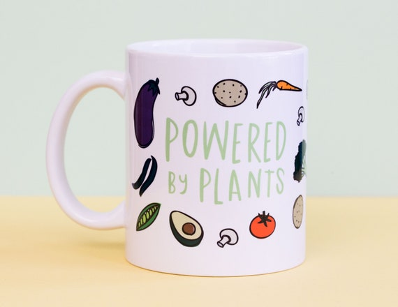 Powered by Plants Coffee Mug