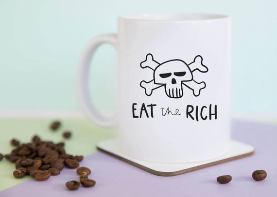 Eat The Rich Mug (With Gift Box)